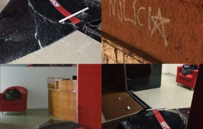 CUT Paraná é novamente alvo de ameaças e exige resposta das autoridades