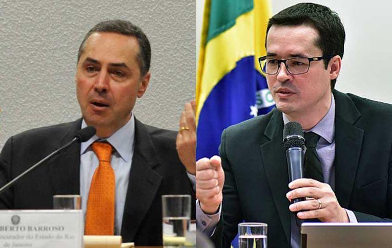 Dallagnol e Moro tiveram jantar com ministro do STF Roberto Barroso