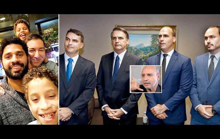 David Miranda aceita expor origem da renda e desafia família Bolsonaro