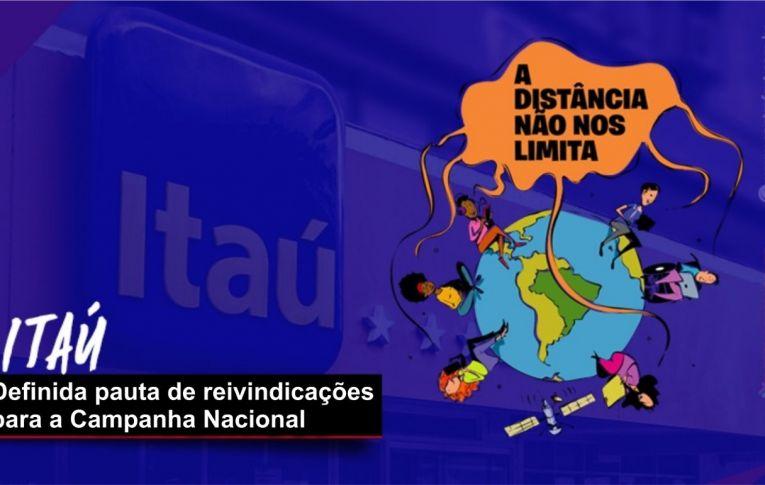 Definida pauta de reivindicações dos bancários do Itaú Unibanco