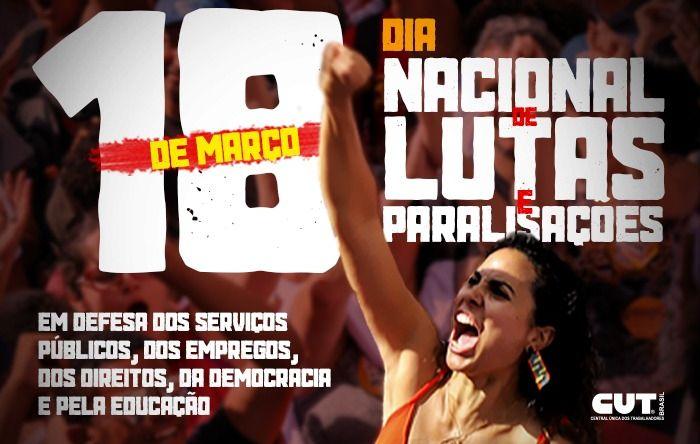 Dia 18 tem atos em todo país contra ataques de Bolsonaro aos direitos e à democracia