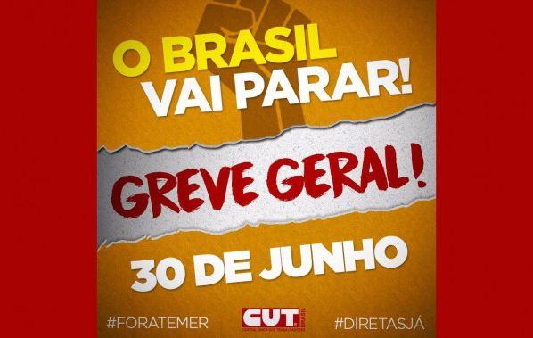 """Dia 20 Brasil fará """"esquenta"""" para Greve Geral"""