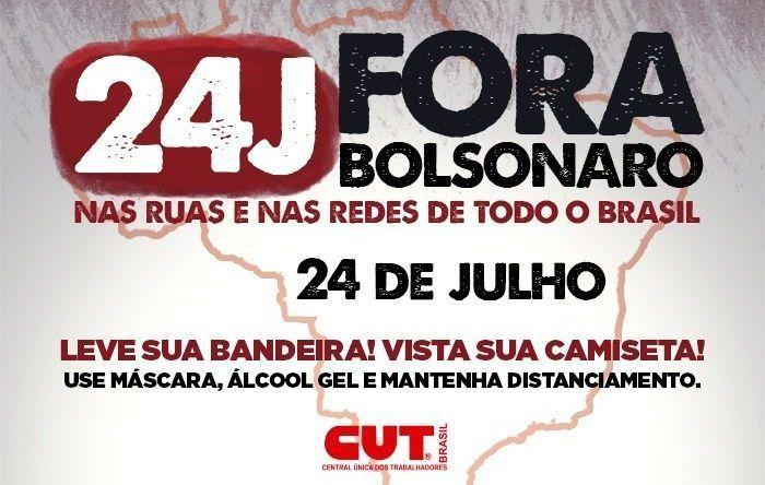 Dia 24 será maior, com unidade e mobilização, avaliam dirigentes da CUT