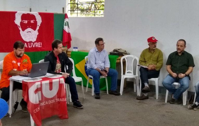 Dirigente do Pactu participou da reunião da Direção Estadual da CUT