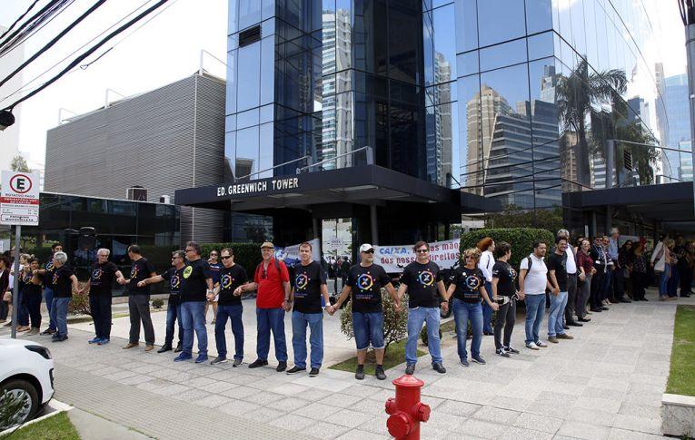 Empregados se mobilizam contra o desmonte da Caixa