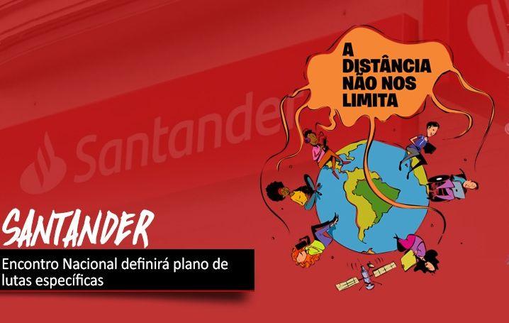 Encontro Nacional dos Bancários do Santander ocorre nesta terça (14)