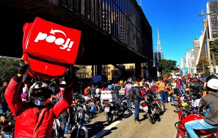 Entregadores de aplicativos fazem 2ª greve nacional neste sábado