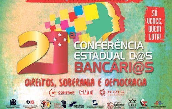 Fetec-CUT-PR organiza a 21ª Conferência Estadual dos Bancários