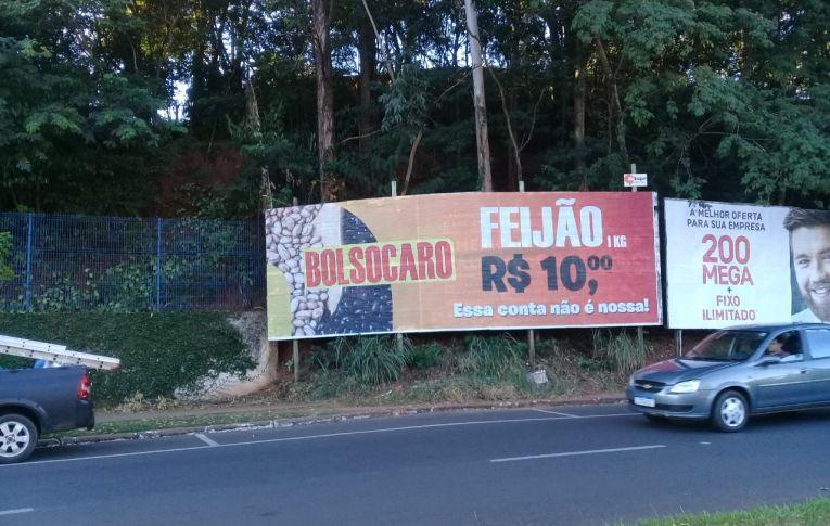 """Fórum Sindical lança campanha """"Bolsocaro"""" em Umuarama"""