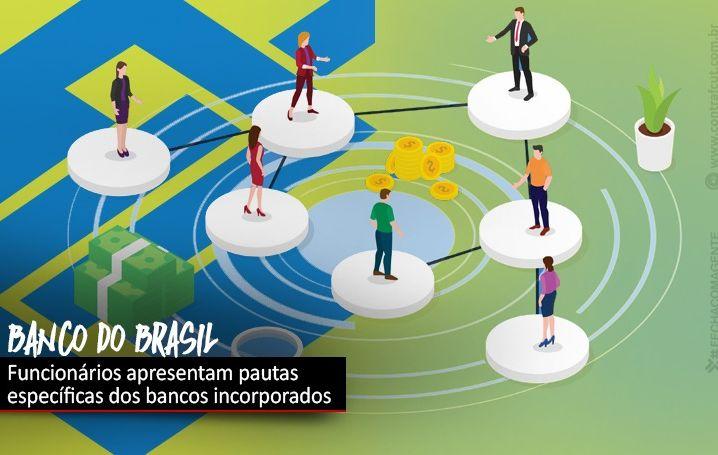 Funcionários apresentam ao BB questões dos bancos incorporados