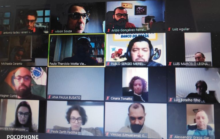 Funcionários do Banco do Brasil realizaram Encontro Estadual por videoconferência