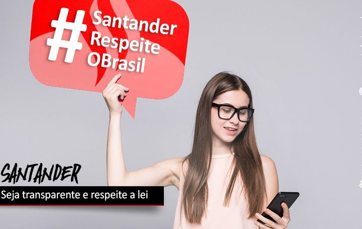 Funcionários exigem que Santander seja transparente e cumpra a lei