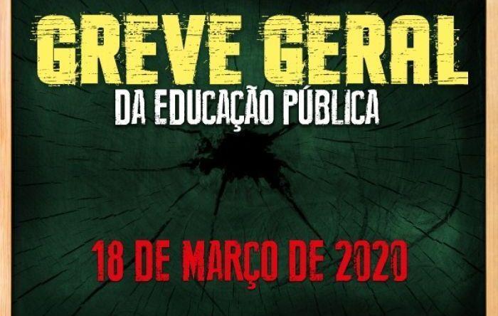 Greve da educação dia 18 está mantida, mas manifestações serão reavaliadas
