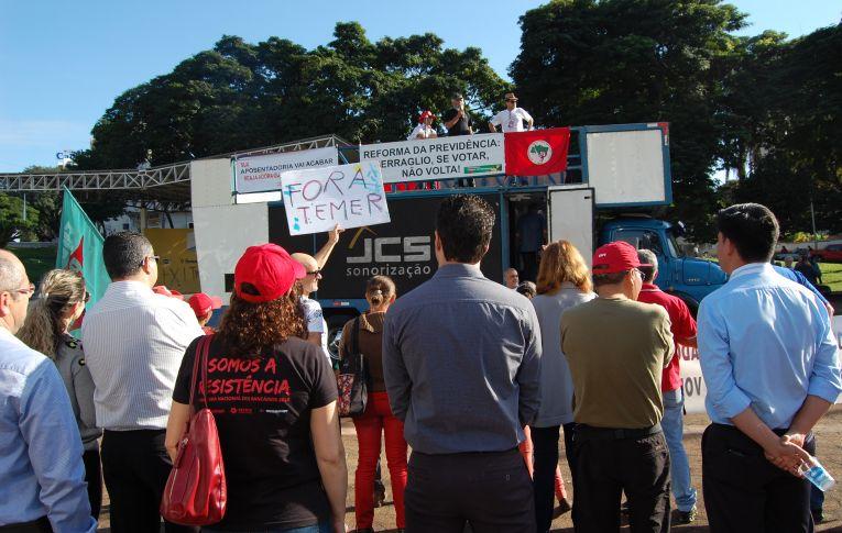 Greve geral tem protestos nas principais cidades do país