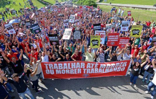Greve Nacional dia 5/12 será para defender aposentadoria