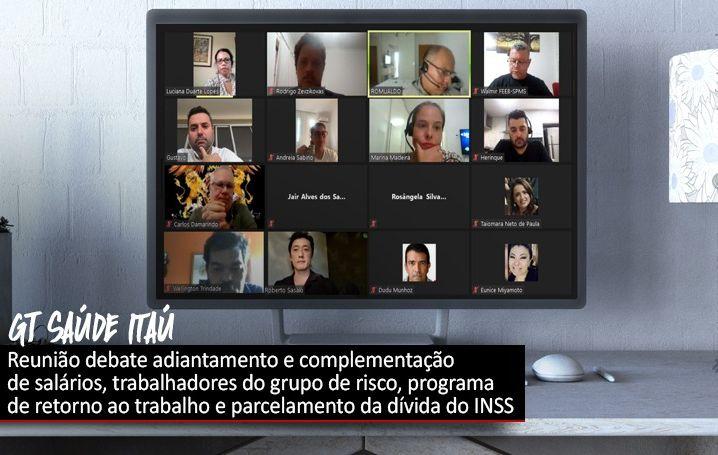 GT de Saúde do Itaú volta a se reunir após Campanha Nacional 2020