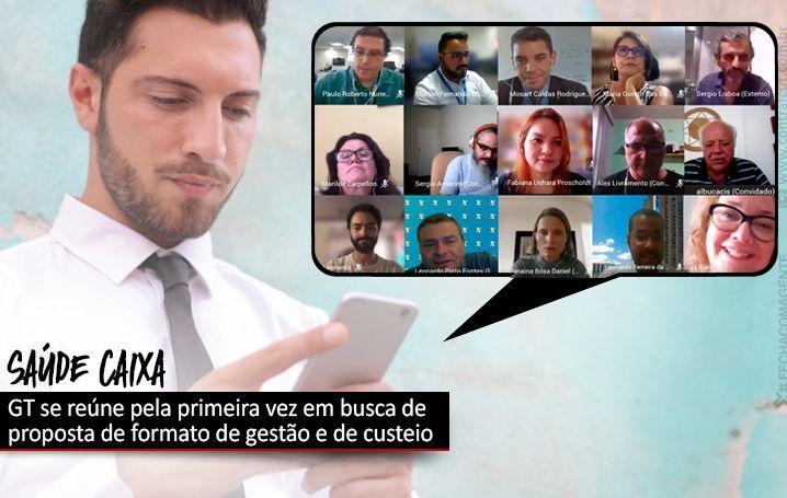 GT Saúde Caixa foi instalado nesta quinta-feira (14)