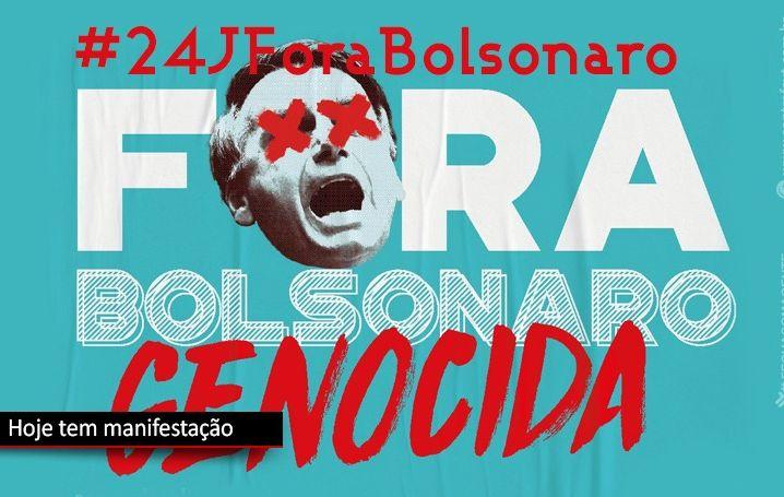 Hoje somos todos Fora Bolsonaro!