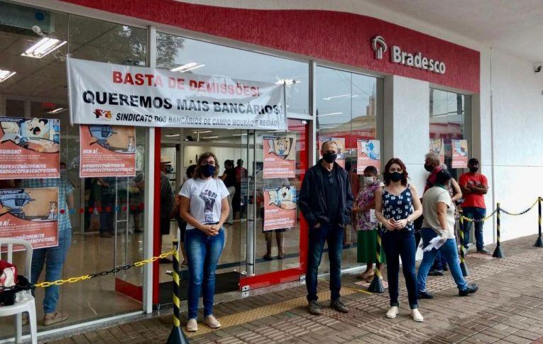 Hoje tem Dia Nacional de Luta Contra as Demissões no Bradesco