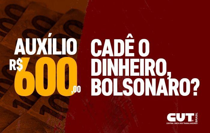 Incompetência de Bolsonaro e sua equipe atrasa pagamento dos R$ 600 aos informais