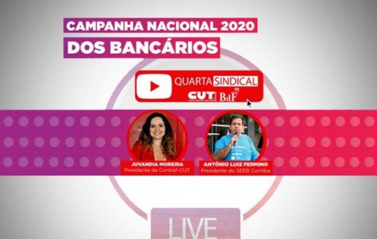 Live debate Campanha Nacional dos Bancários 2020