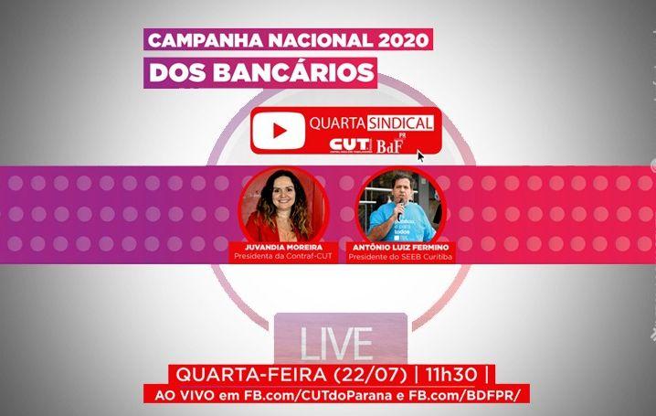 Live debate Campanha Nacional dos Bancários