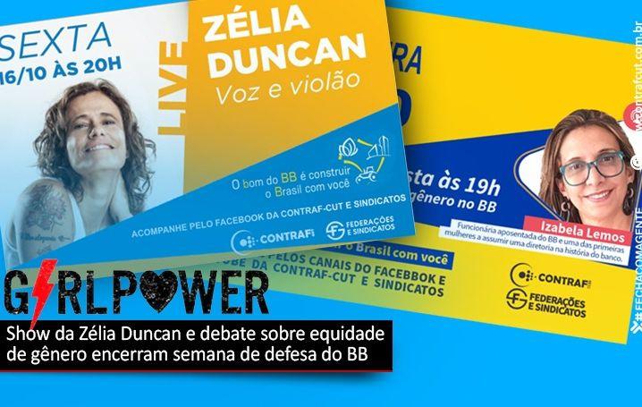 Live desta sexta (16) debaterá equidade de gênero no Banco do Brasil