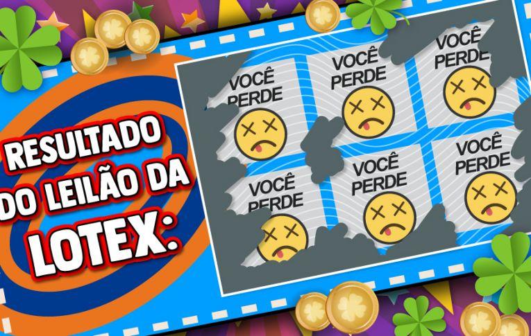 Lotex é vendida a preço de banana pela Caixa