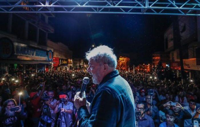 Lula: 'Parece que não bastou me prender. Querem me calar'
