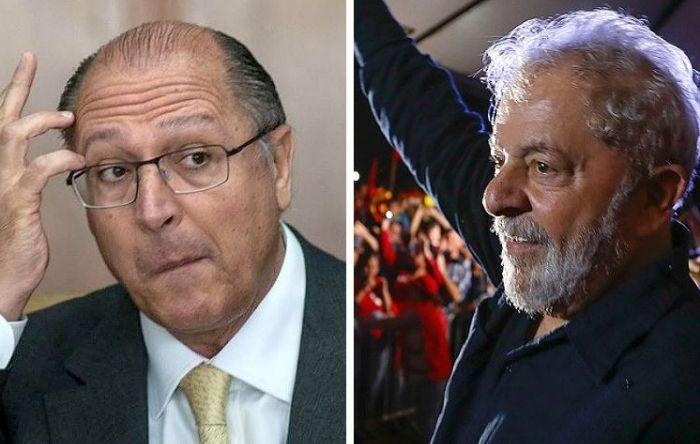 Lula tem 47% de popularidade e Alckmin 70% de desaprovação