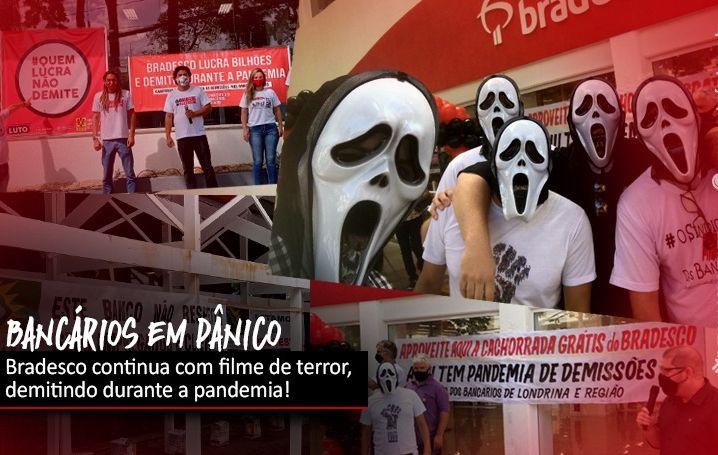 Manifestações contra demissões no Bradesco voltam a tomar o país
