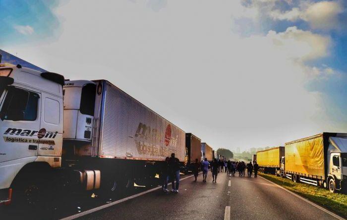 Mobilização dos caminhoneiros mostra importância de um sindicato combativo
