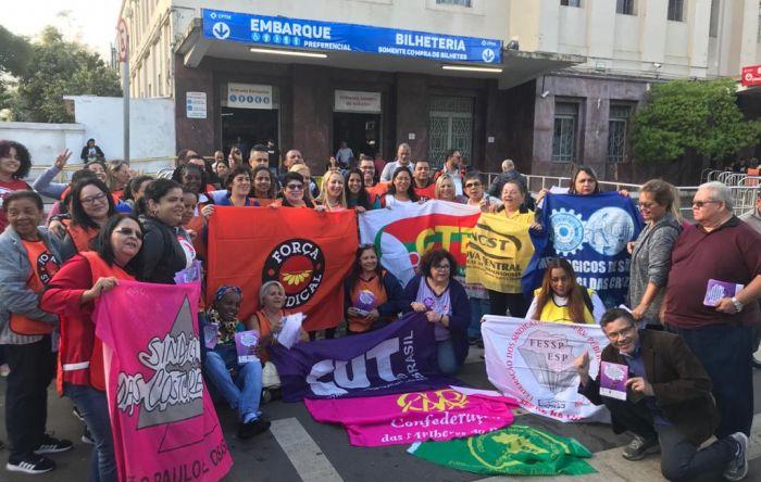 Mulheres da CUT e centrais denunciam retirada de direitos e convocam para atos
