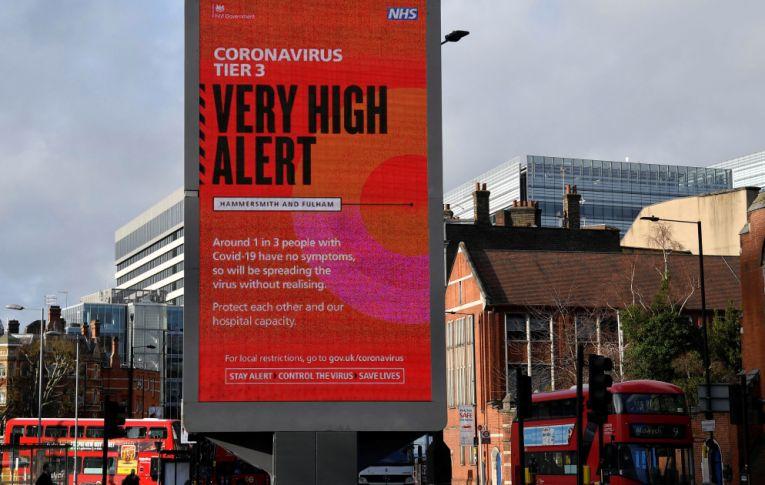Mutação do coronavírus, 70% mais transmissível, se propaga e é detectado em países da Europa e Austrália
