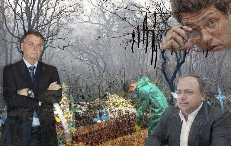 Na pandemia, deixa morrer. Na Amazônia e no Pantanal, deixa queimar