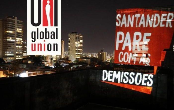 Na pandemia Santander demite 400 e UNI Global faz campanha para parar demissões