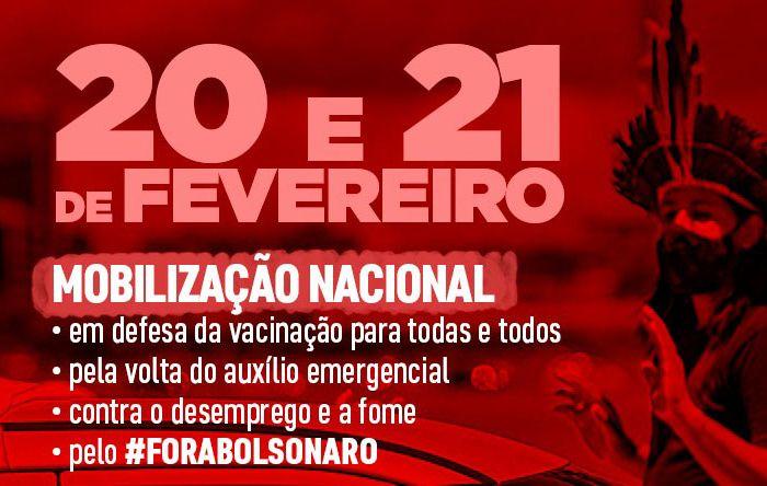 Neste fim de semana, tem protestos contra Bolsonaro e pela vacina em todo o país