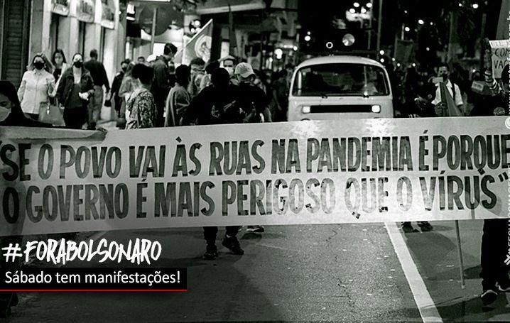 Neste sábado, todos somos 'Fora Bolsonaro!'