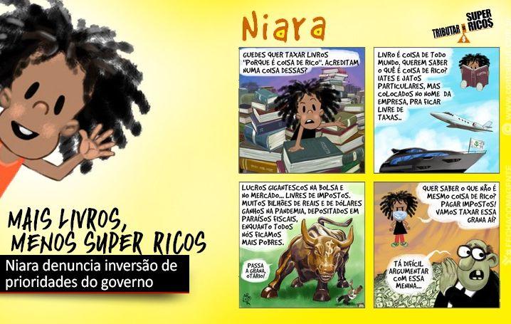 Niara denuncia inversão de prioridades do governo