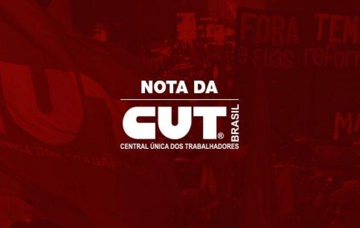 Nota da CUT: Ditadura nunca mais! Fora, Bolsonaro!