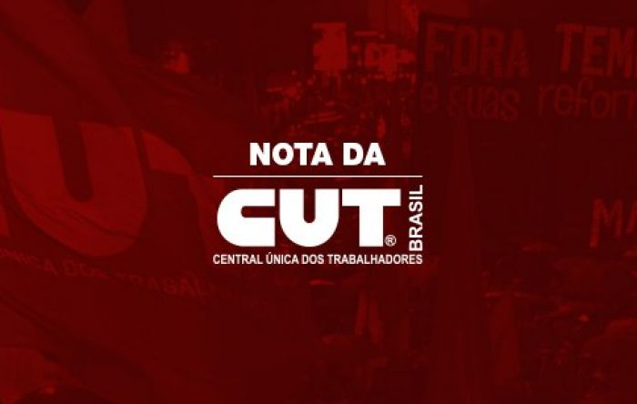 Nota oficial: CUT Brasil condena o golpe de Estado na Bolívia