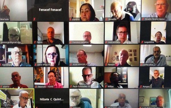 Nova diretoria da Fenacef reafirma compromisso com os aposentados da Caixa