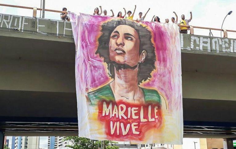 O Brasil e o mundo homenageiam Marielle e pedem justiça