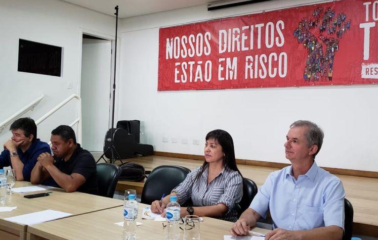 Pactu participou de reunião da Fetec-CUT/PR que discutiu o funcionamento dos sindicatos do estado