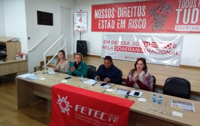 Pactu participou de Seminários sobre Organização Sindical e Democracia