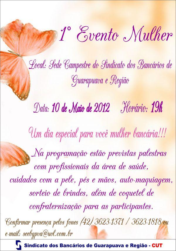 Primeiro Evento Mulher em Guarapuava