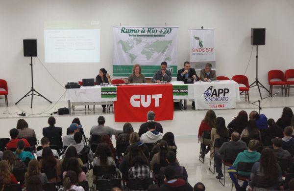 CUT-PR realizou Seminário sobre a Rio+20