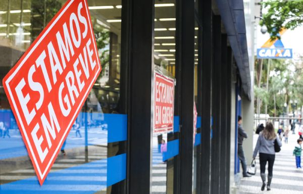 Bancários fecham 6.572 agências em todo o país no primeiro dia da greve