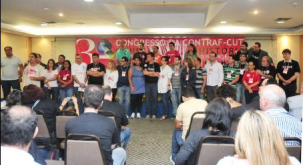 Terceiro congresso da Contraf-CUT elege sua nova direção
