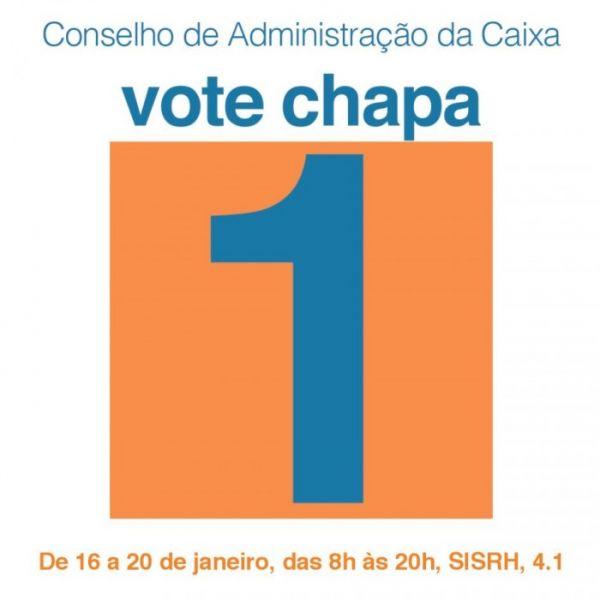 Segundo turno da eleição do CA da Caixa será realizado de 16 a 20 de janeiro